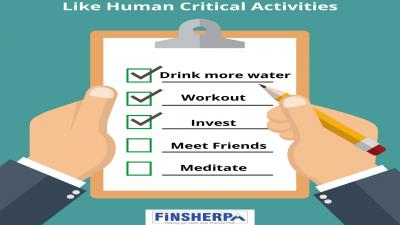Like Human Critical Activities.....