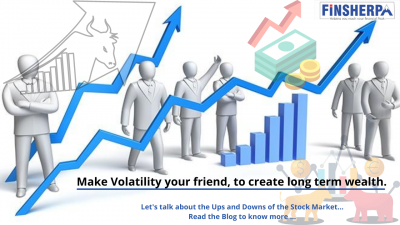 Make Volatility your friend, to create long term wealth.