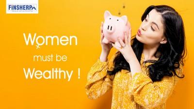 Women must be Wealthy !